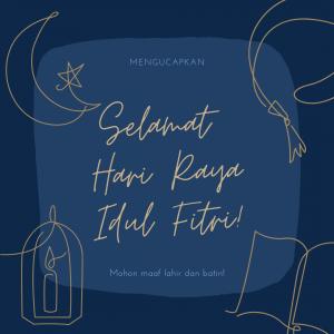 Ucapan Idul Fitri - Selamat Hari Raya - inspiraloka.com